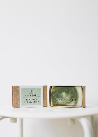 Tea Tree & Spirulina Vegan Soap-Soap-Sancho's Dress