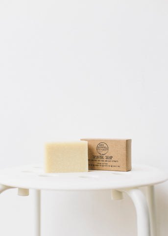 Shaving Soap-Plastic Free-Sancho's Dress