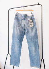 Libby Straight Leg Slim Fit Organic Jeans in Light Wash-Jeans-Sancho's Dress