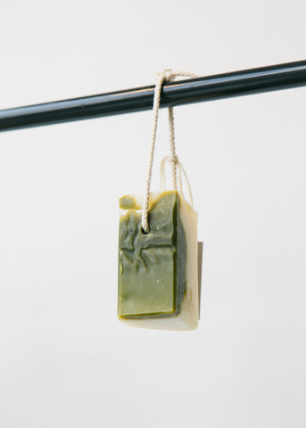 Tea Tree & Spirulina Soap on a Rope-Soap-Sancho's Dress