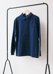 Ezra Organic Cotton Jacket in Navy-Jacket-Sancho's Dress