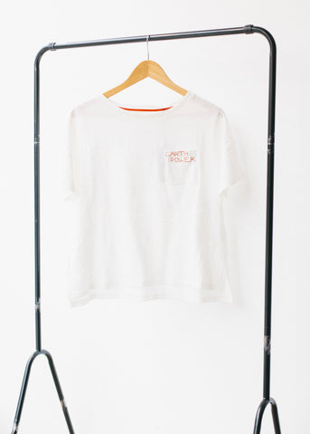 Rosalis Tee in Off White-T-shirt-Sancho's Dress