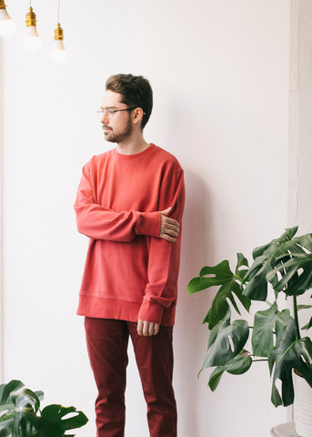 Silvaan in Brick Red-Sweatshirt-Sancho's Dress