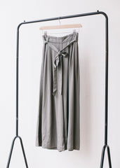 Eshi Culottes in Sage-Trousers-Sancho's Dress
