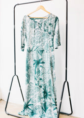 Palm House Dress in Eucalyptus-Dress-Sancho's Dress