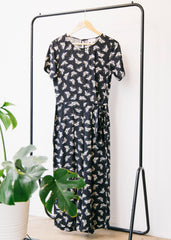 Tatjanaa Butterfly in Dark Navy-Jumpsuit-Sancho's Dress