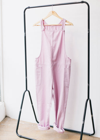Denim Dungarees in Pink-Dungarees-Sancho's Dress