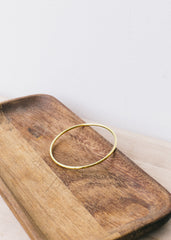 Leah Hammered Bangle-Jewellery-Sancho's Dress