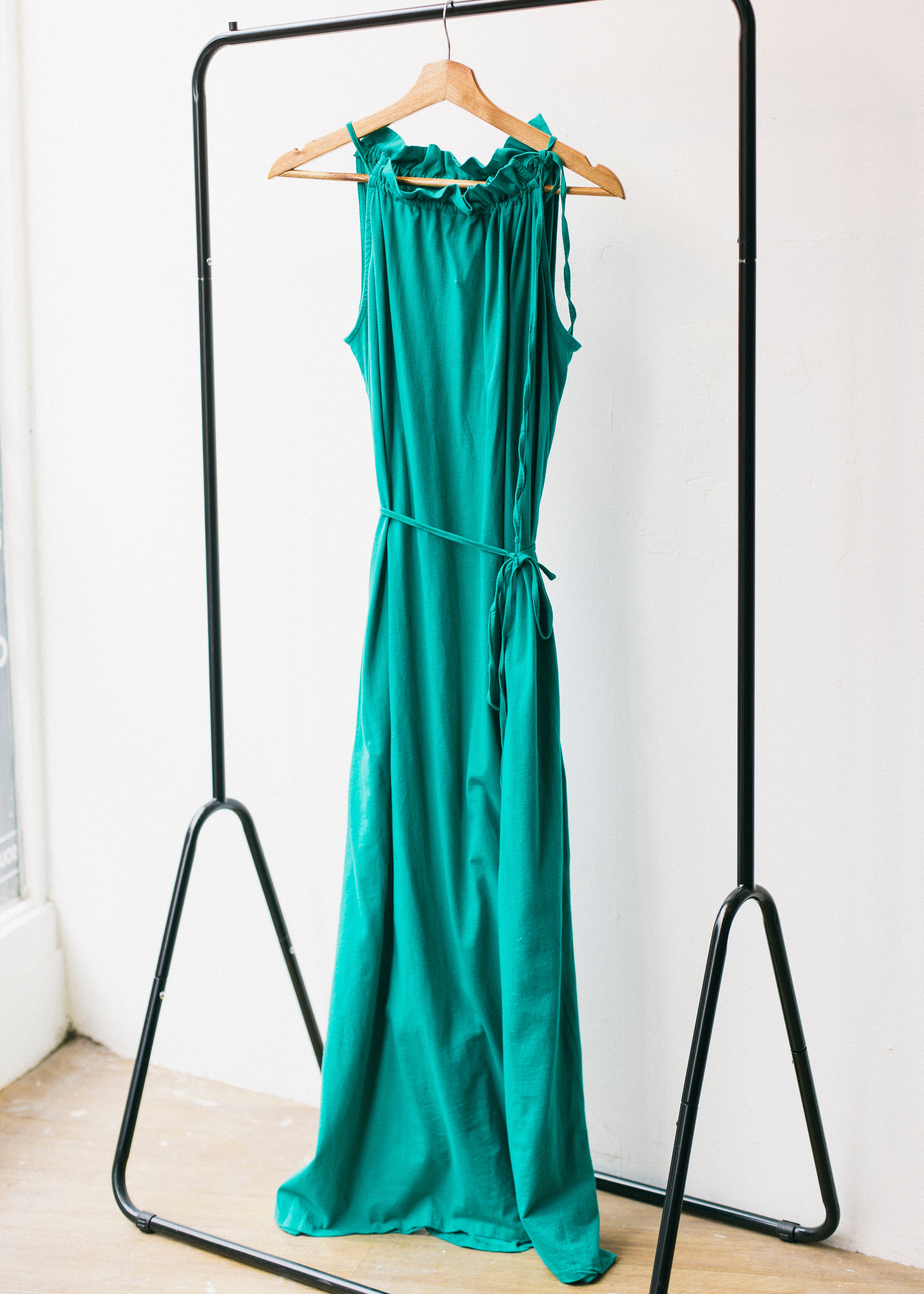 Stacie Maxi Dress in Green-Dress-Sancho's Dress