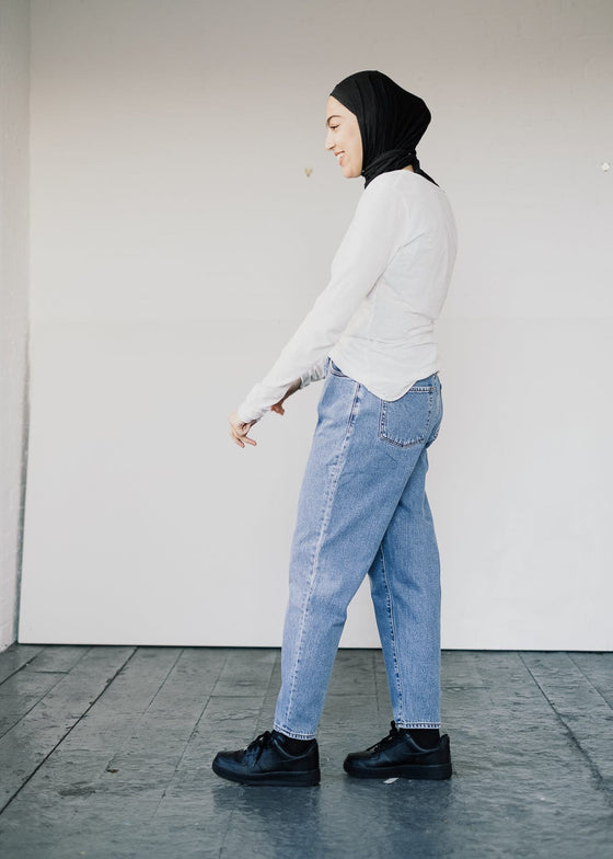 Mairaa Jeans in Mid Blue