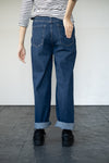 Maya Tapered Jeans in Dark Denim