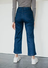 Rosa Culottes in Denim Blue