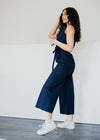 Vesta Jumpsuit in Navy