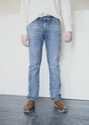 100% Organic Cotton Dylaan Jeans in Light Stone Wash From Armedangels