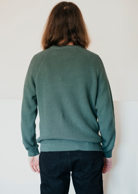 Valley O-neck Knit in Pineneedle