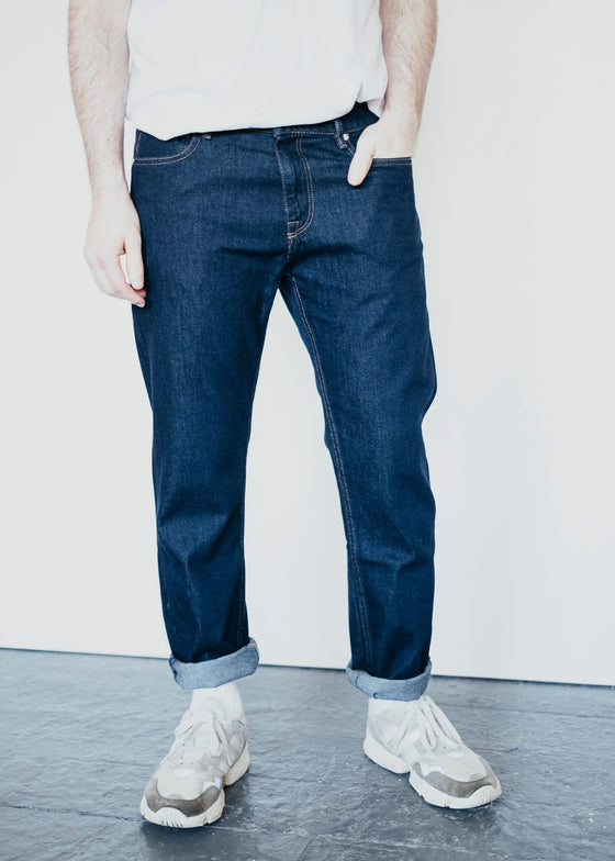 100% Organic Cotton Dylaan Jeans in Rinse From Armedangels