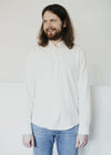 100% Organic Cotton Mens Quinaa Shirt in Off White