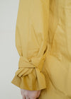 Kesha Organic Cotton Raincoat in Mustard Yellow