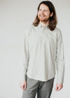 Organic Cotton Button Down Quinaa Shirt in Belgian Blue from Armedangels.
