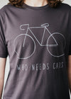 Jaames City Bike Tee In Acid Black