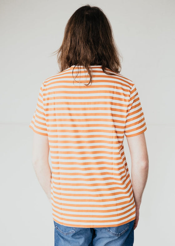 Jaames Breton in Dark Orange-Off White