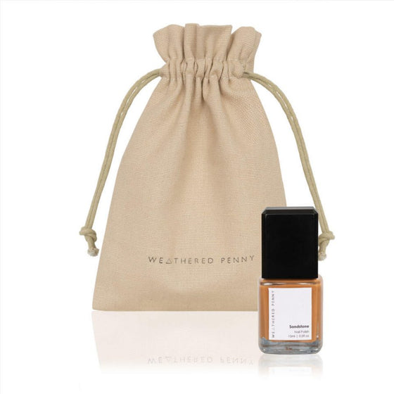 Sandstone Deep Orange Nail Polish