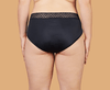 THINX Super Absorbency Hiphugger in Black
