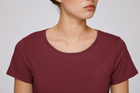 She Wants Burgundy-T-shirt-Sancho's Dress