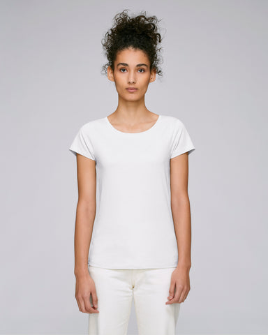 She Wants White-T-shirt-Sancho's Dress