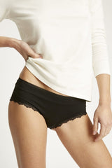Black Lace Hipster-Underwear-Sancho's Dress
