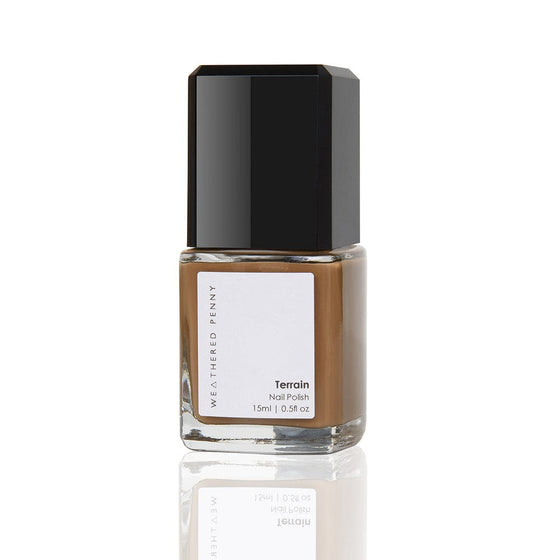 Vegan Nail Polish in Brown from Female-led Sancho's in Exeter