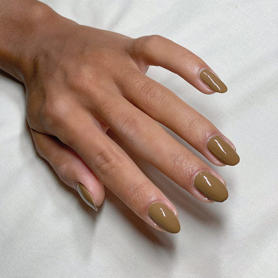 Terrain Brown Nail Polish