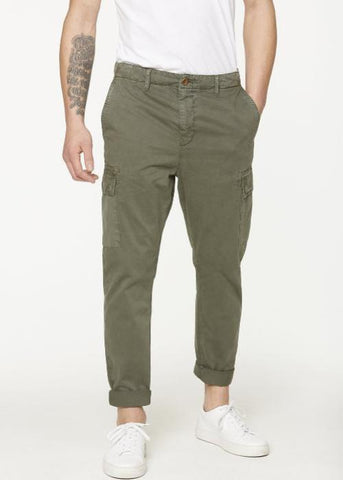 Organic Cotton Cargo Trousers with pockets