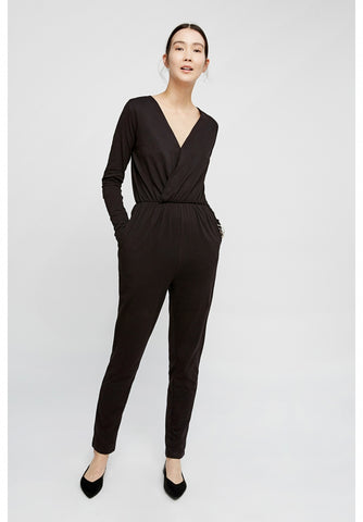 Odette Jumpsuit in Black-Jumpsuit-Sancho's Dress
