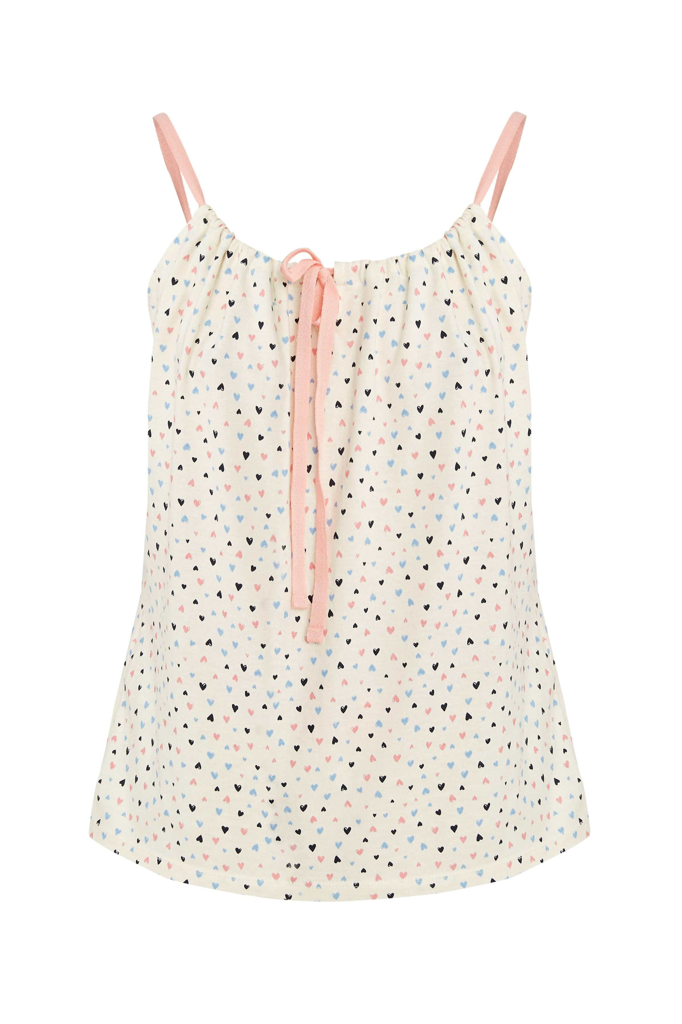 Heart Print Camisole-Nightwear-Sancho's Dress