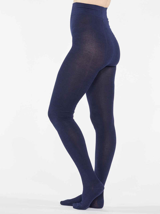 Elgin Bamboo Tights in Midnight Navy