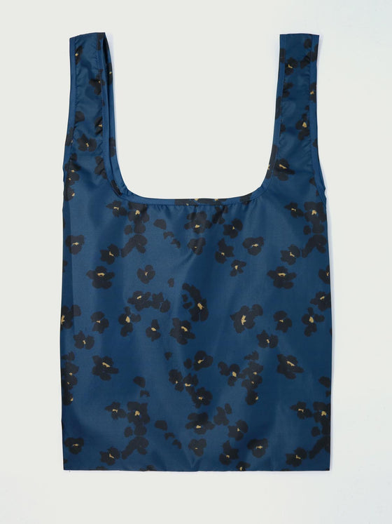 Recycled Polyester Jekyll Shopping Bag in Majolica Blue from Thought