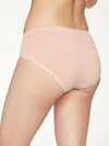 Renata Recyled Nylon Bikini Brief in Blush Pink