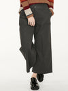 Hiram Cord Culottes in Walnut