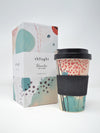 Bamboo Arrah Bamboo Socks and Keep Cup Gift Set from Thought