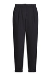 Organic Cotton Bowie Trousers in Coal Black from Komodo