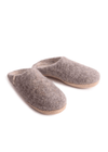 Christmas gift Ethically Made Wool Slippers in Natural Grey from Egos