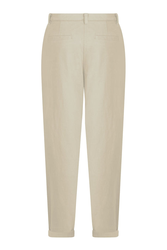 Bowie Trousers in Warm Sand