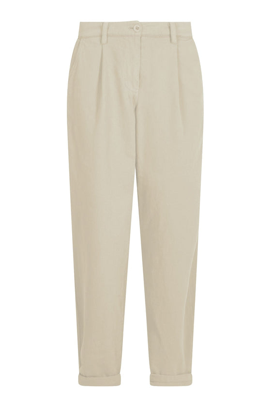 Organic Cotton Bowie Trousers in Warm Sand from Komodo