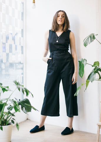 Judie Jumpsuit in Black-Jumpsuit-Sancho's Dress