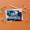 You're Wonderful Lillies-Cards-Sancho's Dress