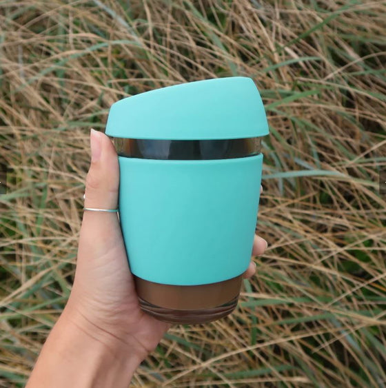 Wave Cup in Reef Green