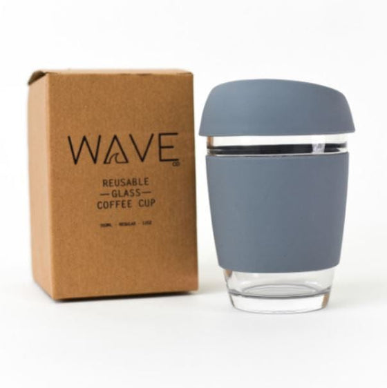 Wave Cup in Grey