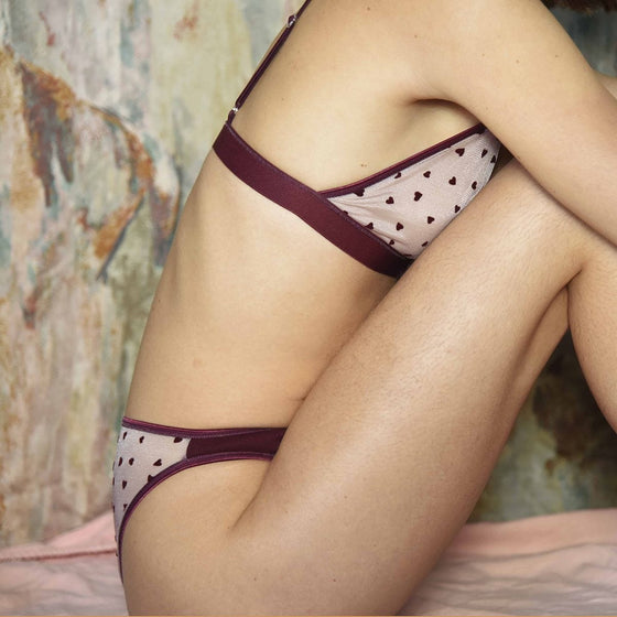 Amour Panties in Pink Rose