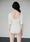 Nicole Bodysuit in White